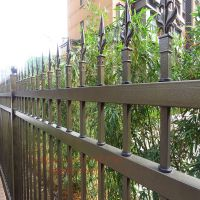 天津锌合金围墙护栏锌钢院墙栅栏生产厂家规格可定制