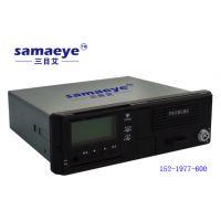 珠海三目科技三目艾车载录像机4G远程监控五合一高清车载视频部标一体机带打印机功能,手机实时监控实时定
