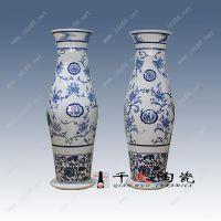景德镇陶瓷花瓶厂 公司门口摆放大花瓶