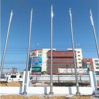 耀恒 国旗杆 304不锈钢旗杆 12米锥形旗杆 品质保证 可抗12级台风