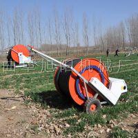 供应大面积小麦喷灌设备大规模农田节水浇灌机自动回收浇田机