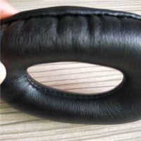 厂家直销可填充全透明硅胶皮耳套 车缝皮耳套