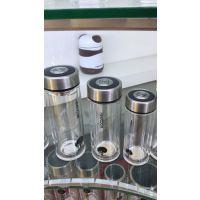 西安希诺玻璃杯双层保温商务水杯高档钢化水晶办公室玻璃杯子
