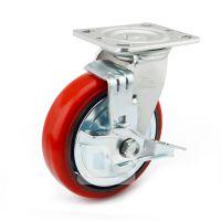 大世脚轮 高承重耐磨耗万向轮 承重6寸轮子脚轮