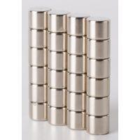n35牌号圆柱形钕铁硼强力磁铁 优质小磁铁销售