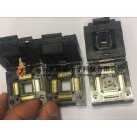 YAMAICHI IC插座 QFP11T080-005 QFP80PIN 0.65MM间距 翻盖式