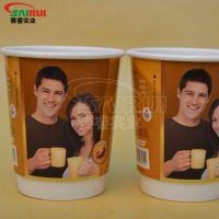 8盎司中空杯厂家直销,纸塑工厂,一次性纸杯的创意