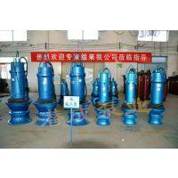 大型潜水排涝泵 350QZB22KW不锈钢叶轮潜水轴流泵 应急排水设备