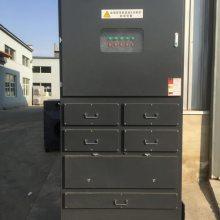 首信环保4S店烤漆房定制uv光氧废气净化器立式光氧机的工作原理