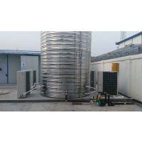 建筑民工安装热水器、工地用空气能烧水洗澡、工人用的开水机、喝水器