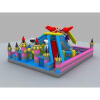 自家小区摆充气城堡行吗 幼儿娱乐大气大型滑梯 江西哪买大型充气跳床城堡