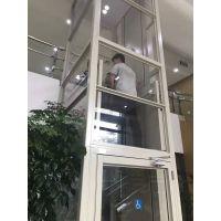 观光电梯 家用四五人液压升降机供应平台 启运四平市 天津无机房导轨式电梯