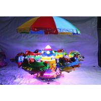 新款豪华充气旋转飞机 飞鱼小飞机限时抢购 户外儿童游乐园升降飞机