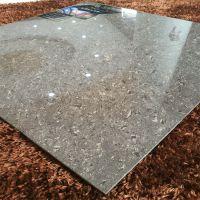佛山工程瓷砖600*600咖啡色微粉抛光砖深色陶瓷地板