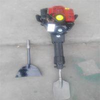 轻便耐用小型挖树机 富兴进口合金链条快速刨树机