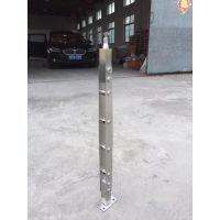 江苏无锡天波幕墙厂家直销304不锈钢穿管子立柱 可定制
