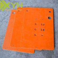 雄毅华橘红色电木板绝缘材料加工定制 厂家批发