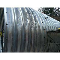 衡水涵管厂家 四川钢波纹涵管施工 镀锌波纹钢管型号 Q345