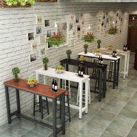 简约家用靠墙小吧台客厅窄桌小长条桌高脚餐桌可定制餐桌厂家批发