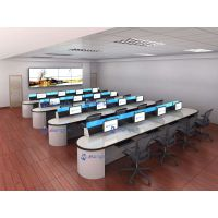郑州航空港口控制台 人民法院审判庭电脑桌 多媒体智能电脑桌席