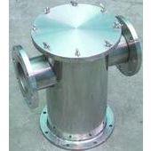 索沐图高效水处理设备 不锈钢直通平底式篮式过滤器厂家