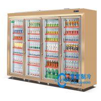 零度供应立式冷藏保鲜展示柜,冷藏展示柜