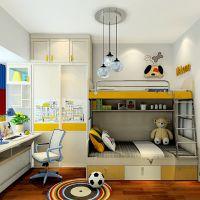 免费量尺定制卧室家具 青少年卧室家具 男孩 床 床头柜