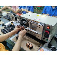 电机线圈无针脚带引线的各种电机线圈水阀线圈自动包胶机TM-1566