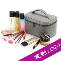 专业定做手提化妆箱化妆包多功能化妆品收纳箱大容量