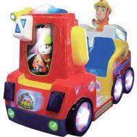 供应消防车 新款摇摆机互动游戏 大成动漫科技