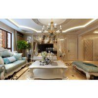 哈尔滨大树装饰万达城欧式风格洋房设计方案赏析