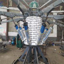 你玩过公园游乐设备登月飞车吗来河南三星游乐设备厂家