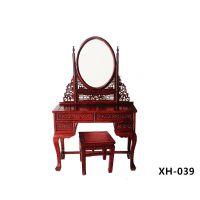 古典中式老榆木卧室梳妆台图片
