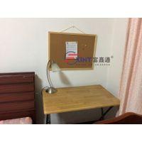 惠州定制木框彩色软木板A留言板厂家直销S幼儿园作品展示板