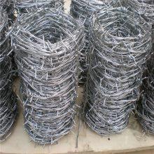最新铁刺绳价格 带刺铁丝网 刀片刺网图片