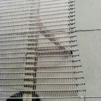不锈钢清洗流水线链板 乾德机械设备厂家 速冻机网带