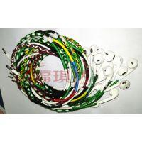 东莞加工编织绕线耳机手工加工编织耳机彩色编织耳机编织数据线