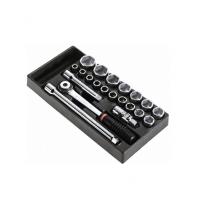 Facom供应镀铬单头棘轮扳手套装MOD.S1普通工具钢