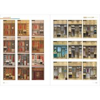 南阳板式家具图册印刷全屋定制彩页设计板式衣柜画册制作