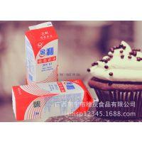 美典金利植脂鲜奶油烘焙原料蛋糕裱花装饰植物奶油980g*12支/件