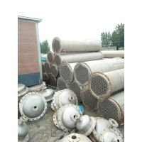 二手不锈钢列管式冷凝器/浓缩式降膜式循环蒸发器/传热设备