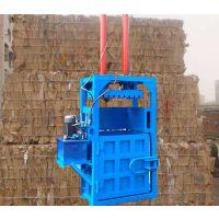 湖北易拉罐金属打包机 富兴油漆桶压扁压块机 羊毛打包机哪里有卖