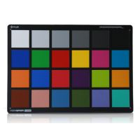 爱色丽24色测试卡六级灰度三原色卡检测相机图像色彩校正24色卡