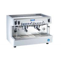 意大利carimali cento 50 2E 商用半自动双头咖啡机 支持高杯