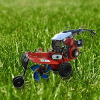 手扶式开沟机规格 启航茶园旋耕除草机 起垄施肥机型号