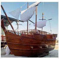 厂家直销装饰/ 海盗/广场公园景观船/海盗船屋/道具船