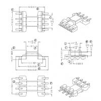 EFD10高频变压器骨架 贴片 卧式4+4 双排脚 HX-1005