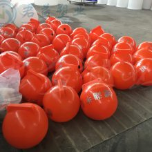 连云港塑料浮球 直径400锦航标浮球