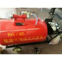 供应盛鑫半固定式泡沫灭火装置移动式消防泡沫罐