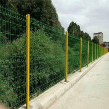 双边丝隔离网 单位防护网 防护栏施工队